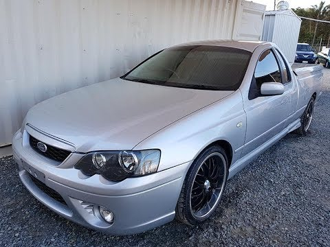 (SOLD) Automatic Ford Falcon XR6 Turbo Ute 2006 Review For Sale