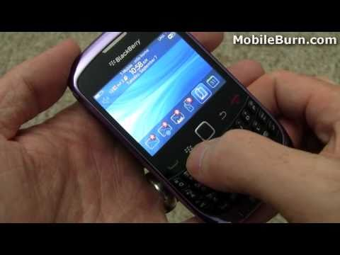 T-Mobile BlackBerry Curve 3G video tour