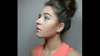 Quick and Easy High Messy Bun Tutorial | Faobeauty Thumbnail