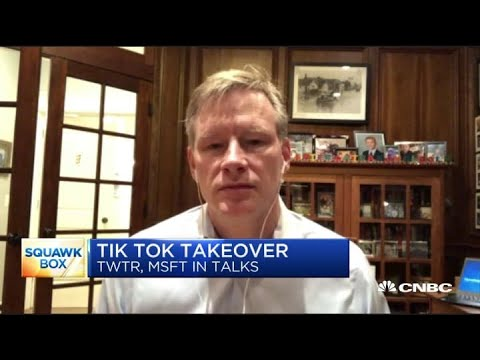 RBC Capital Markets' Mark Mahaney on his top three tech stocks, TikTok talks