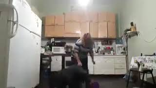 Angry wife beats up her husband - Prank gone wrong