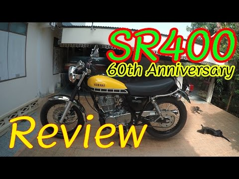Review YAMAHA SR400 60th Anniversary กับราคา 275,000 บาท (สำหรับตำนานราชาสูบเดียวคันนี้)