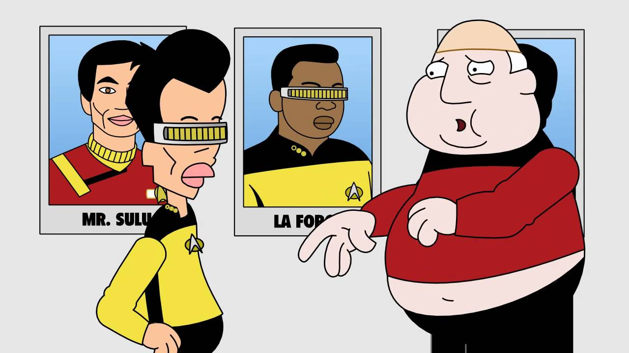 Beam Me Up, Mr Chan Hd - Funny Cartoon Star Trek - Youtube-6560