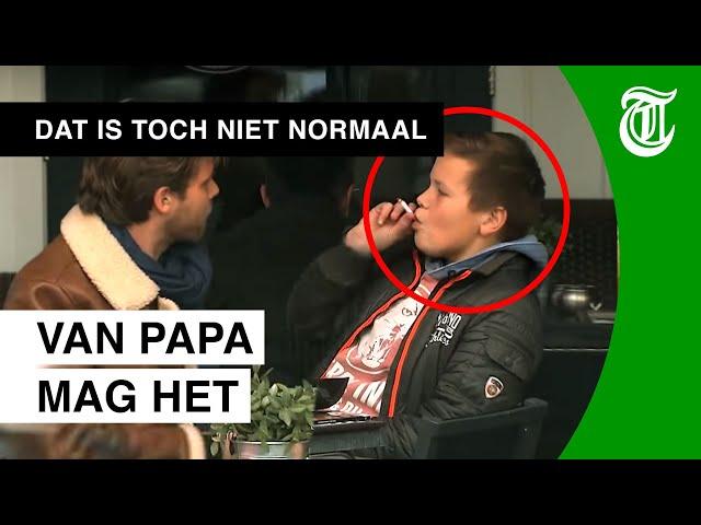 Vader laat 13-jarige zoon roken en drinken - DAT IS TOCH NIET NORMAAL? #01