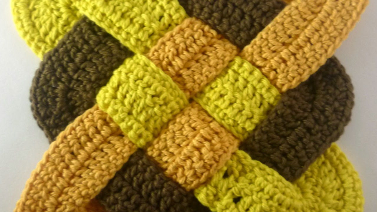 How To Make A Celtic Weaved Square Crochet Motif Diy Crafts