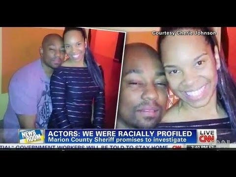 Cherie Johnson and Dennis White Actors Arrested, Racial Profiling in Cotton Field in S Carolina