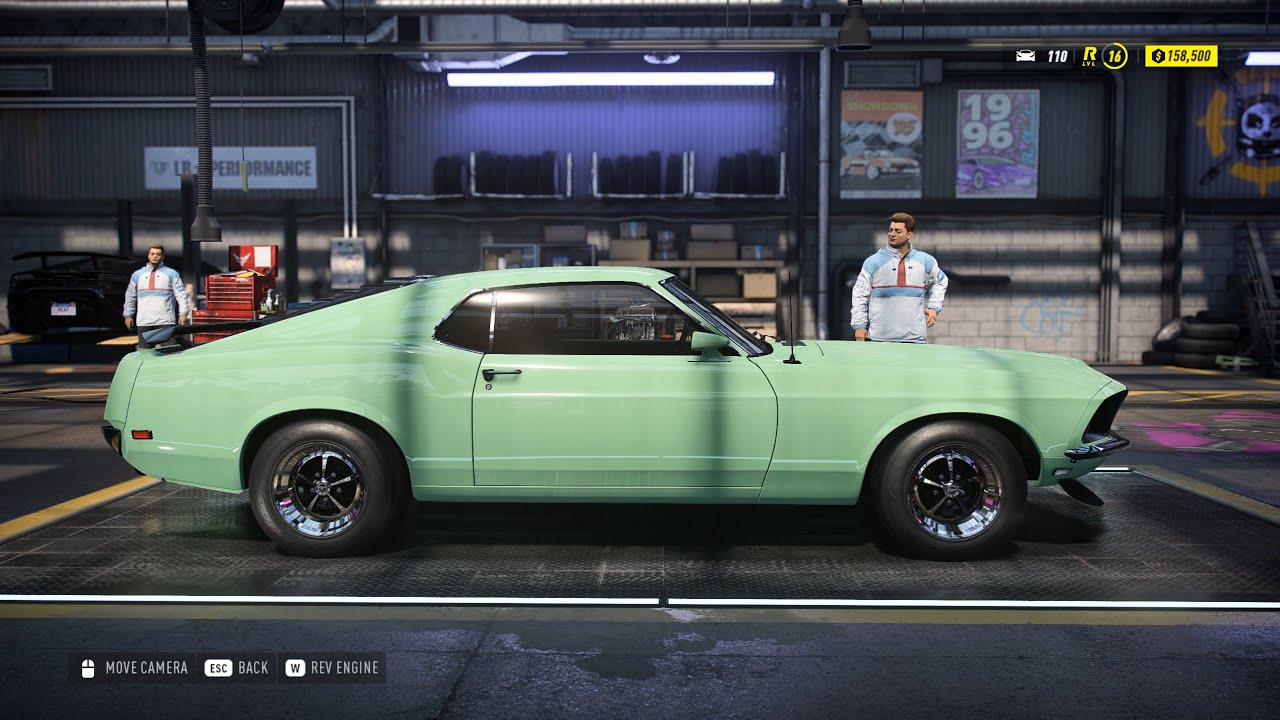 need for speed heat mustang boss 302