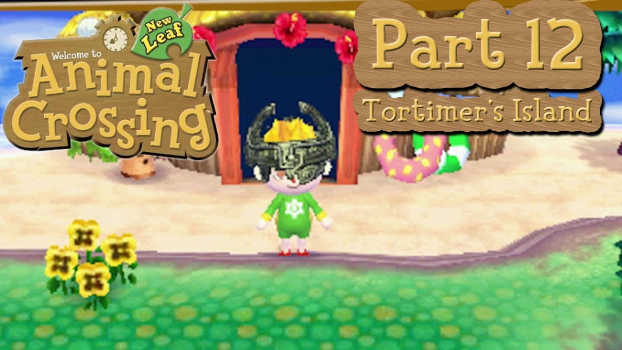 Animal Crossing New Leaf How To Get To Island