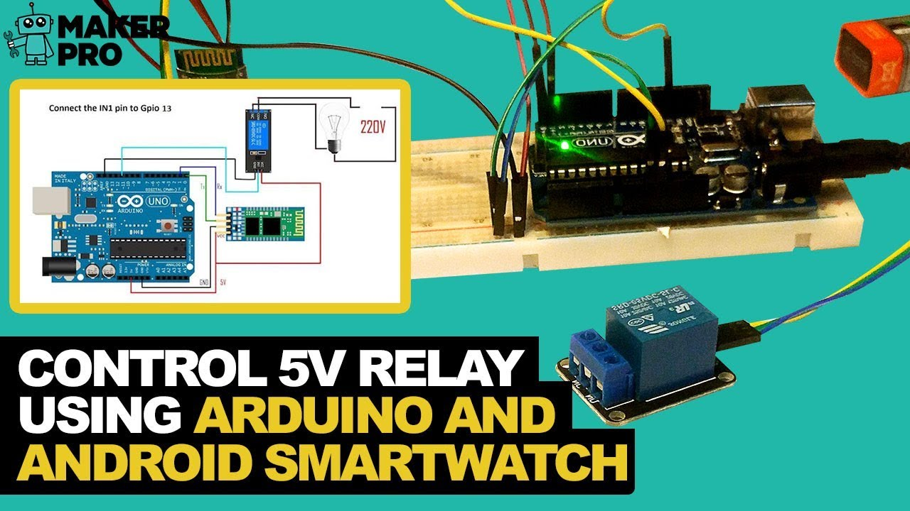How To Control a 5V Relay With Bluetooth Using an Arduino