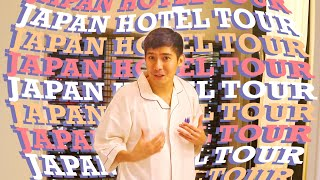 Hotel Tour in JAPAN! Super high-tech | Robi Domingo