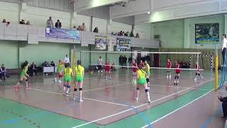 Дитяча волейбольна ліга-2017/18: Чернівці - Світловодськ (1-2 п.)