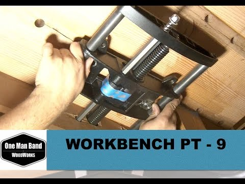 Veritas Quick Releas Front Vise installation how to - workbench build part 9