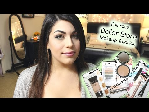 Full Face Dollar Store Makeup Tutorial | Under $10.