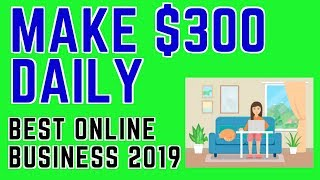 On this video i show you the online business that am using to make over $300 per day. in my opinion is one of best start 2019. ...