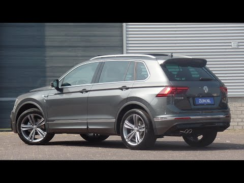 Volkswagen NEW Tiguan R-Line 2019 in 4K Indium Grey 19 inch Sebring walk around & detail inside