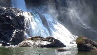 Водопады Керала Индия - где снимался фильм Бахубали - Kerala Bahubali