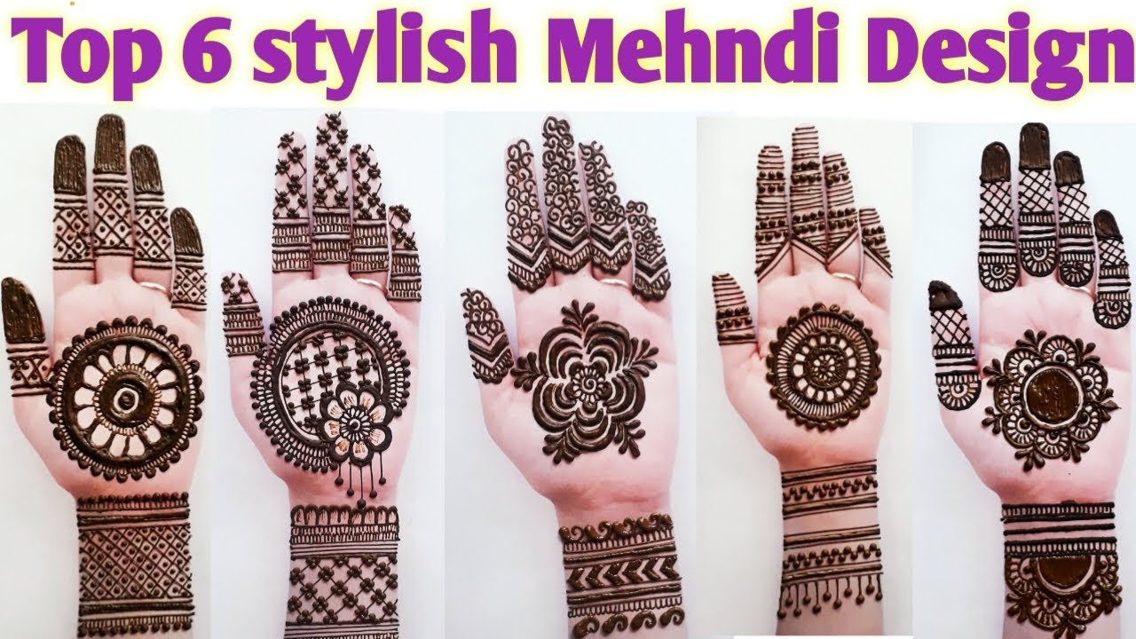 chain mehndi design 2021