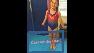 Beginner Gymnastics Cast Tutorial on Bars