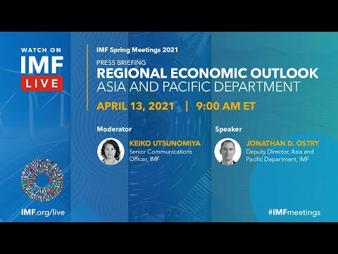 Press Briefing   Regional Economic Outlook: Asia-Pacific