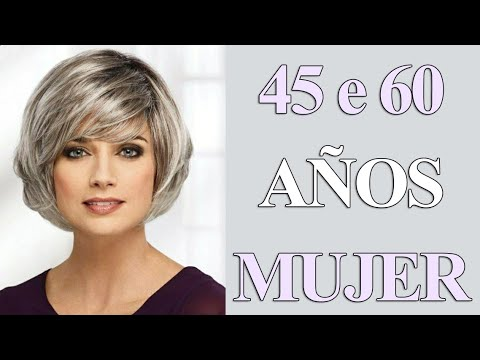 Corte Pelo Corto Para Mujer De 45 A 60 Años Corte De Cabello Youtube