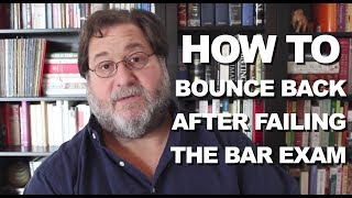 Bouncing Back After You Failed the Bar Exam — Personal Bar Prep