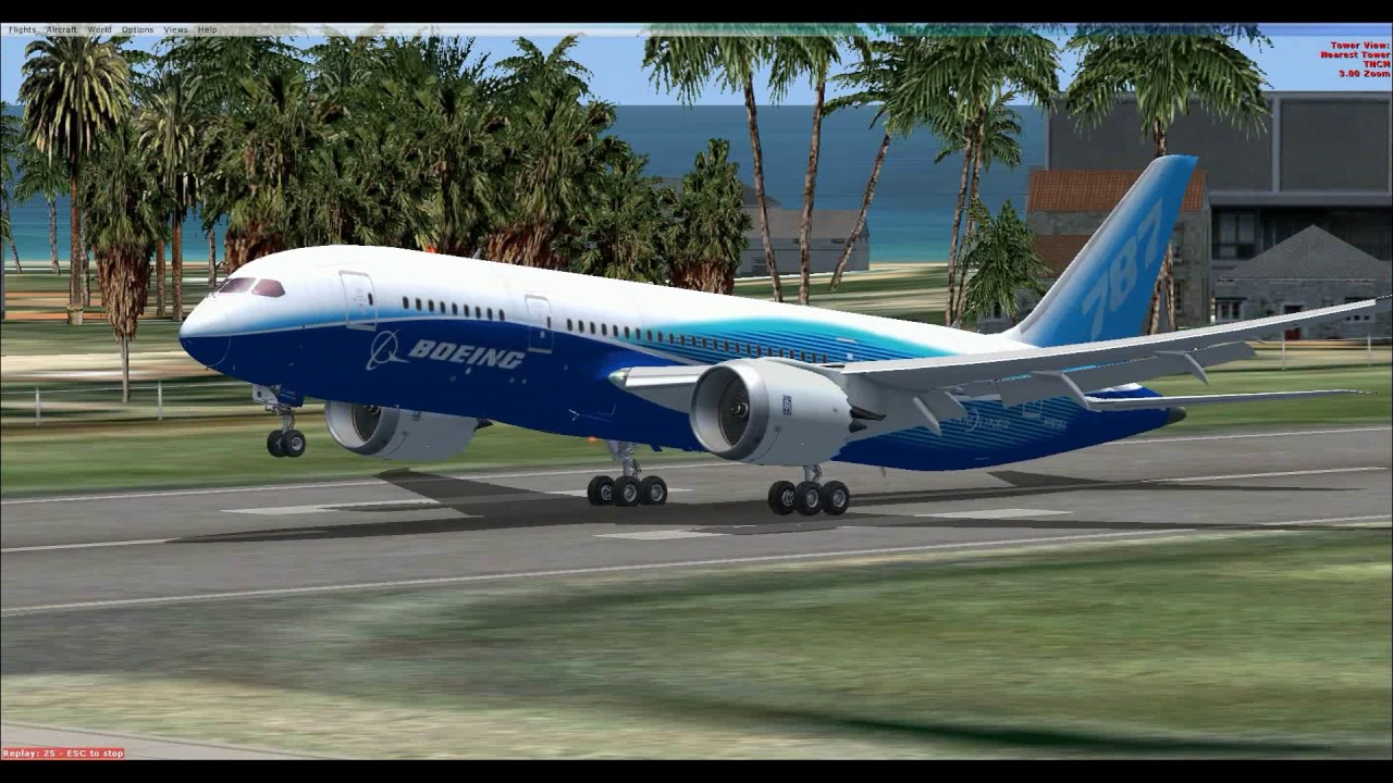 Boeing 787 DREAM(LINER Microsoft Flight Simulator X