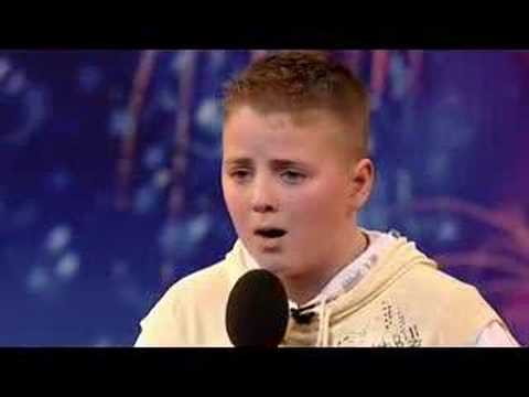 Andrew Johnston - Pie Jesu - Britain Got Talent 1st Audition