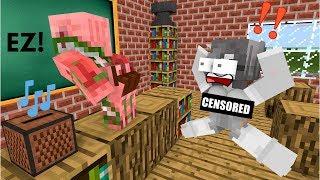 Monster School: TALENT CHALLENGE - Minecraft Animation