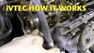 iVTEC How it Works -EricTheCarGuy