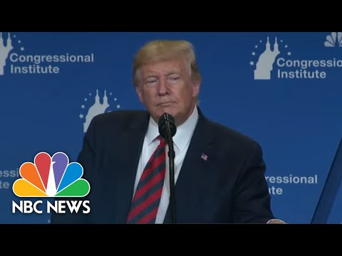 Trump Comments On Democratic Candidates As They Take Stage At Third Debate  NBC News