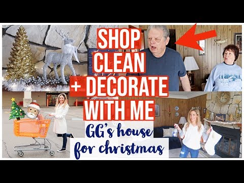NEW CLEAN + DECORATE WITH ME CHRISTMAS 2019 | BIG LOTS DECOR + GG'S CHRISTMAS HOUSE TOUR | Brianna K