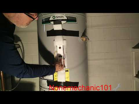 AO Smith Water Heater Heating Element Replacement