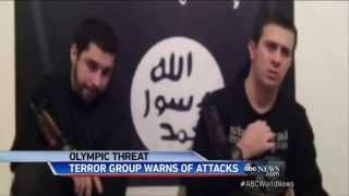 Repeat youtube video Sochi Olympics : Islamic Terrorists threatens attacks on Tourist at Winter Olympics (Jan 20, 2014)