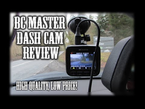 BC MASTER DC10 Dash Cam Review + Giveaway