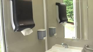 Portable Restrooms Trailer   ADA Compliant