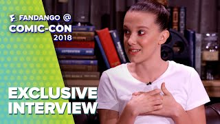 Millie Bobby Brown and the Cast of 'Godzilla: King of the Monsters' | Comic-Con 2018 Full Interview
