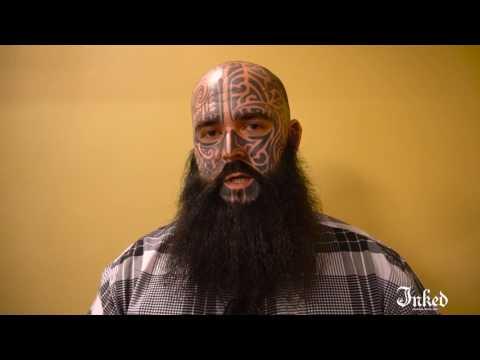 Evan Beers -- Facial Tattoos