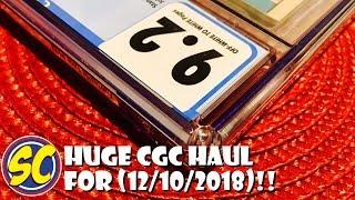 CGC Haul, Comic Book Speculation & Investing (12/10/18): Batman 121, Fantastic Four 112 & more!!