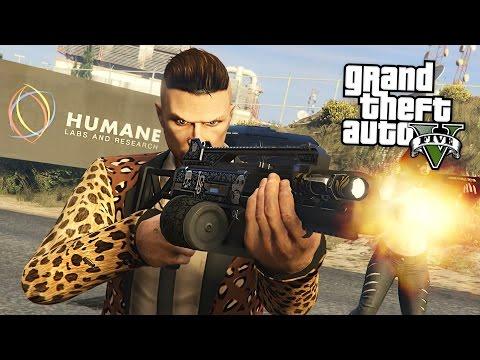 HUMANE LABS RAID!!  (GTA 5 Online Heists)