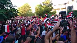 Syria: Fans celebrate in Damascus as Syria draw 2-2 with Iran in World Cup qualifier