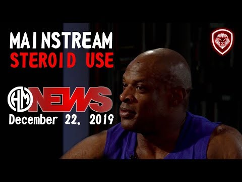 Ronnie Coleman про стероиды и другие стимулирующие вещества (PED).