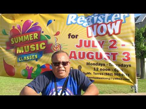 Summer Music Classes With Barrio Music Organization