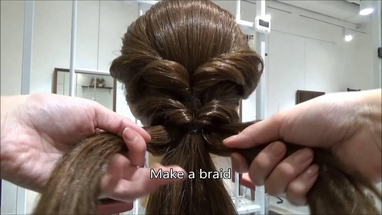 blanco michaela #42 inverse ponytail lower bun hair style /tokyo hair style salon @singapore