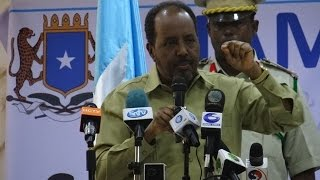 Madaxweyne Xassan Sh  - Yaa Yiri Calankaa Labadalayaa? Khudbadda  Xuska Maalinta Calanka Somalia