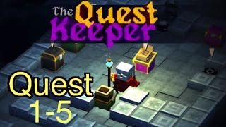 The Quest Keeper: Quest 1-5 - Walkthrough on iPad