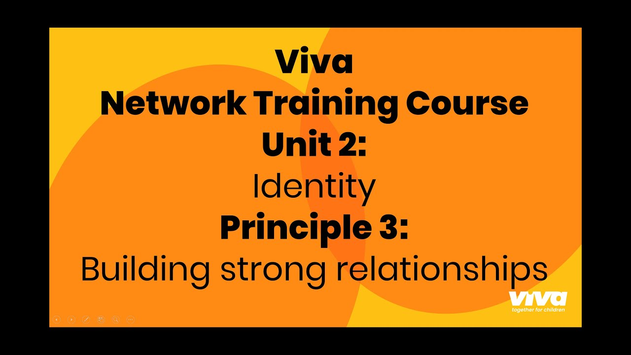 NTC Unit 2 - Identity 3: Building strong relationships with Viva and other Partner Networks