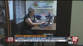 Woman sues Wells Fargo Bank after robo dialer called her cell phone over 6000 times