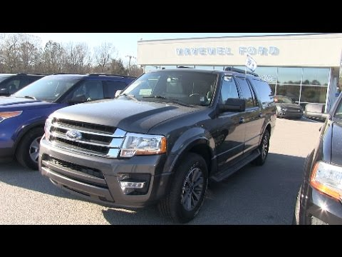 2016 Ford Expedition Xlt El In Depth For Review March 2017