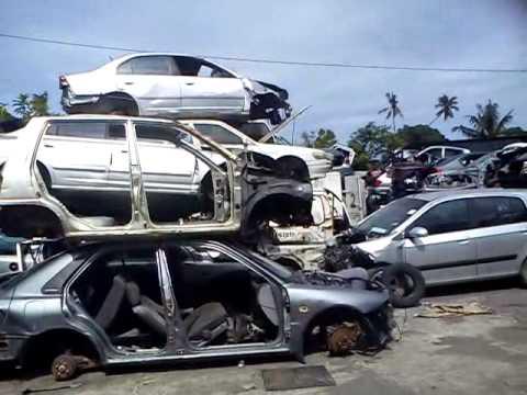 half cut kereta malaysia
