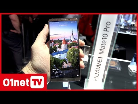 Huawei Mate 10 Pro : un smartphone géant qui reste ultra compact